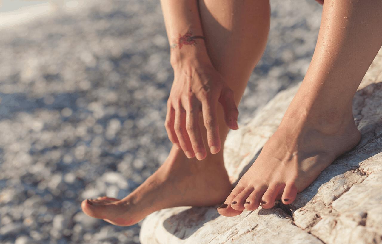 Inchaços nas pernas em dias quentes podem ser evitados (1)